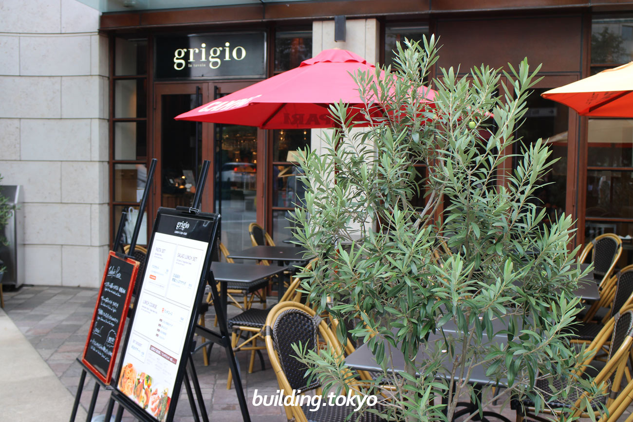 赤坂Bizタワー、grigio la tavola。