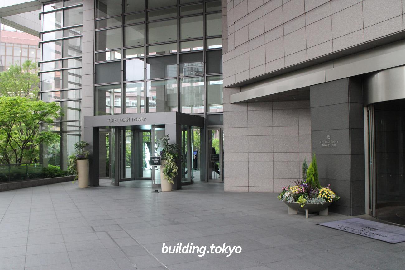 セルリアンタワー、オフィス階への入り口