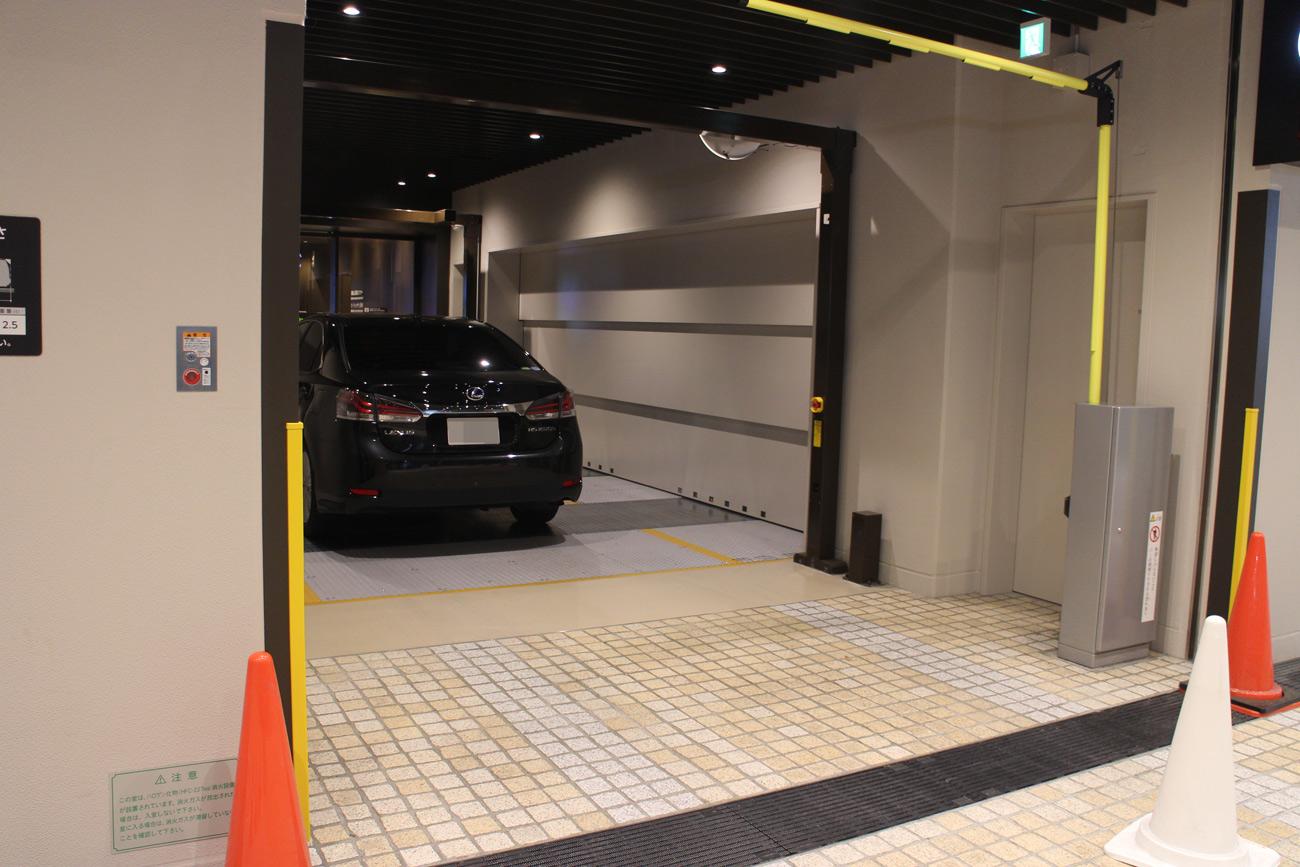 日本橋高島屋S.C.新館駐車場