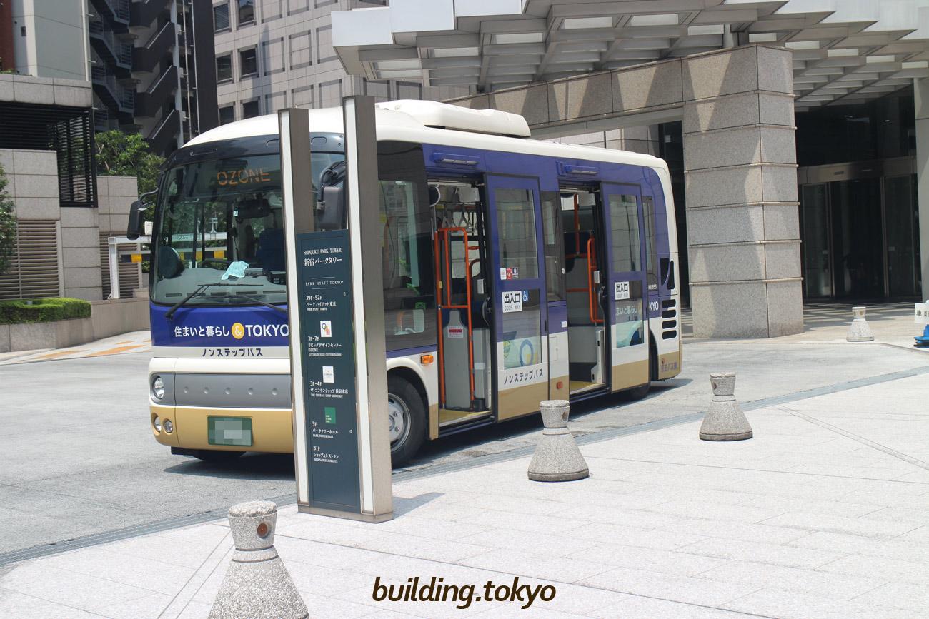 新宿パークタワー、シャトルバス