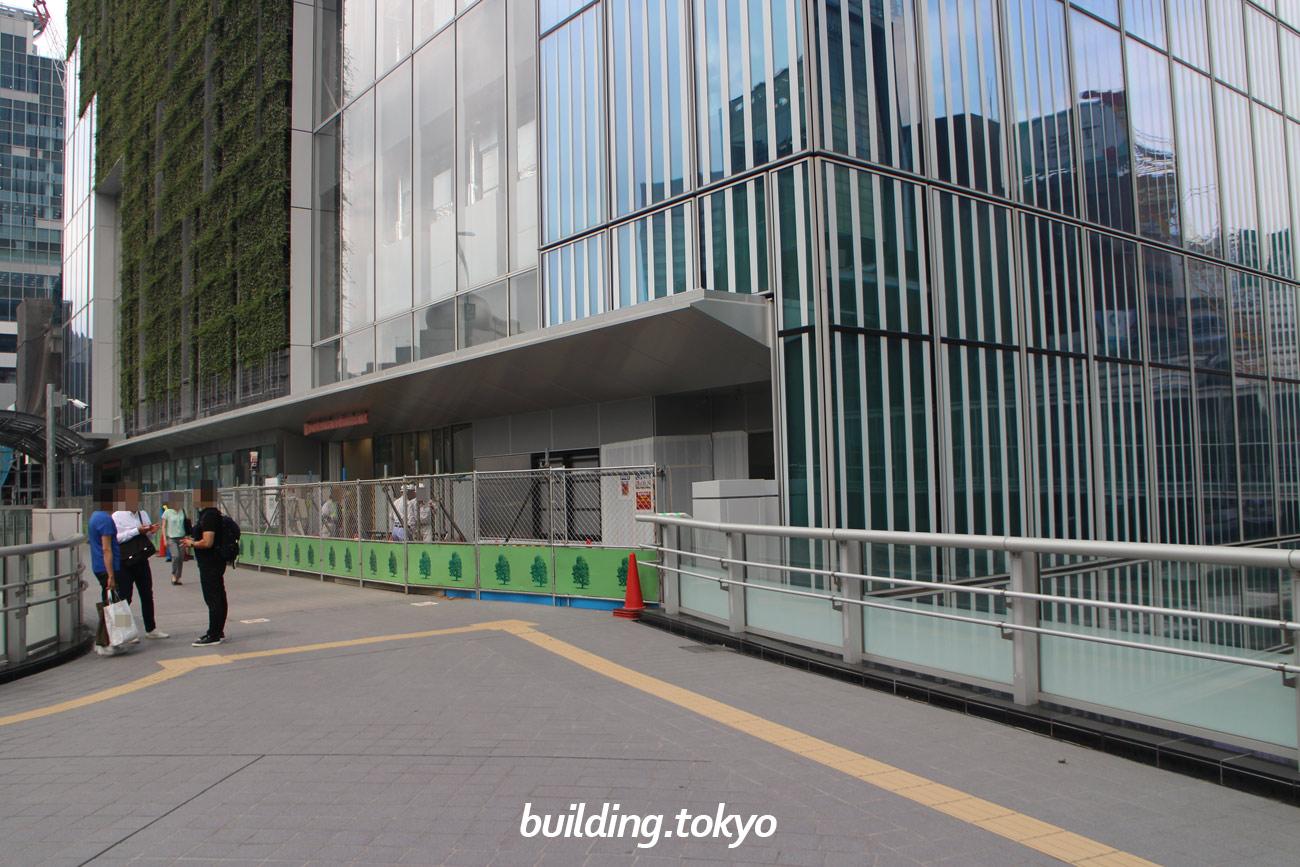 渋谷スクランブルスクエア東棟 建設中の様子(2019年7月25日)