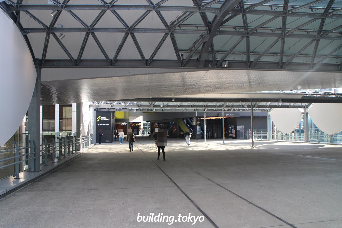 渋谷スクランブルスクエア 東棟 建設中の様子(2019年10月23日)