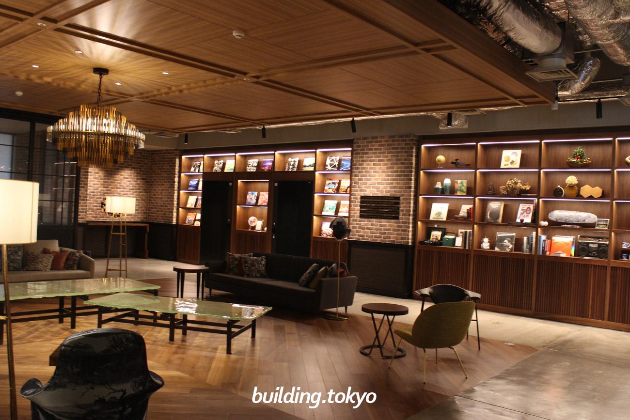 渋谷ストリーム エクセルホテル東急。4F、ロビーラウンジ。