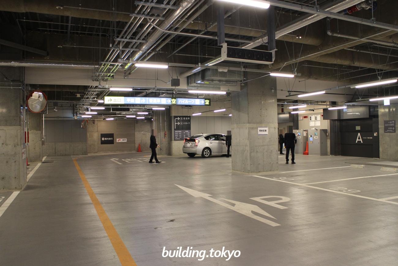 渋谷フクラス(東急プラザ渋谷)駐車場
