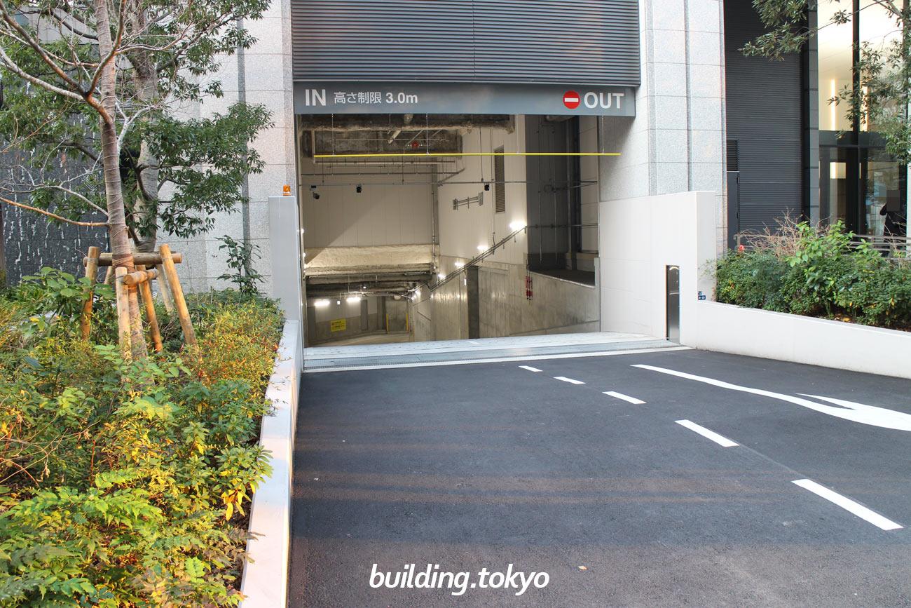 Shinagawa HEART、駐車場。