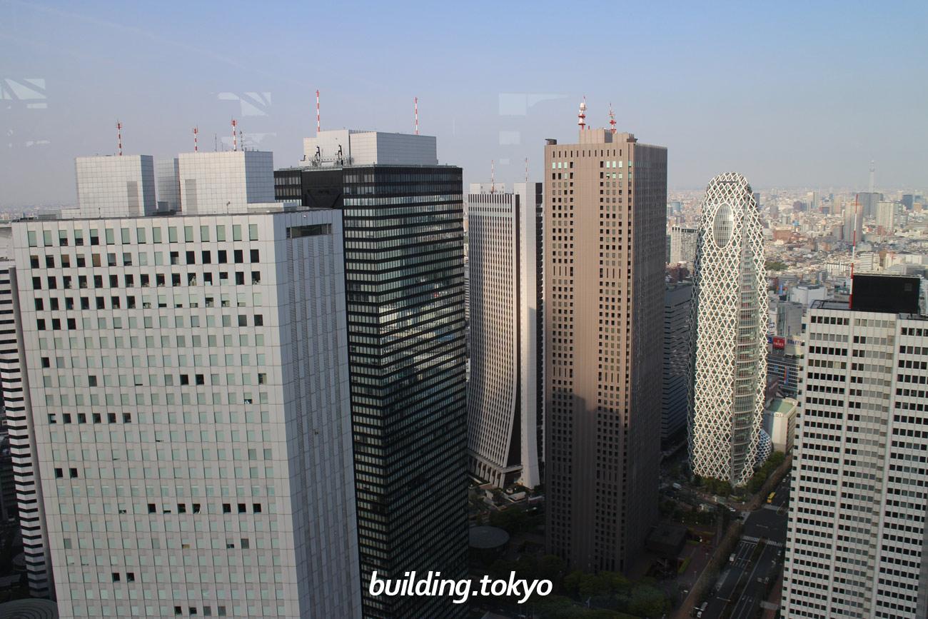 東京都庁第一本庁舎展望室よりの眺望